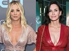 Kaley Cuoco a Courteney Coxová