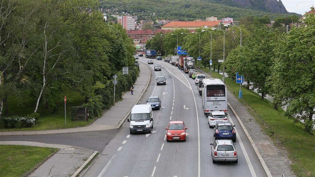 Bílinu čekají dopravní komplikace, opravovat se bude tah Teplice - Most