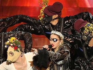 Madonna jako host na finále Eurovize 2019 v Tel Avivu