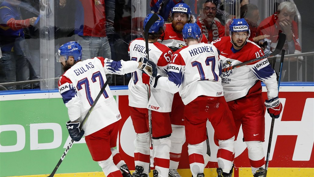 MS v hokeji ONLINE: Česko - Německo, čtvrtfinále je na řadě ve čtvrtek