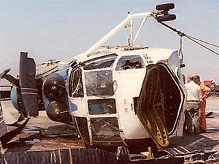 Havárie vrtulníku N619PA na střeše budovy PAN AM 16.5. 1977