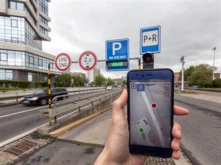 Test aplikace Chytrá Olomouc ukázal, že sledování obsazenosti parkovišť zatím...