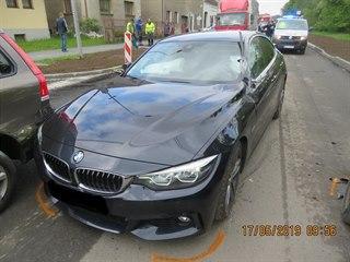 Muž ukradl v Německu BMW a ujížděl s ním do České republiky. Policisté ho...