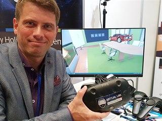 Budějovická společnost Virtual Lab předváděla systém virtuální konferenční...