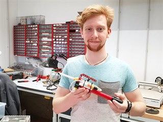 Jedním z makerů, který bude na Maker Faire Prague 2019 vystavovat je Matěj...