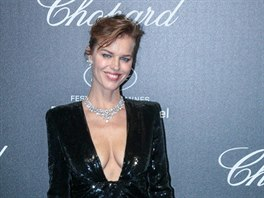 Eva Herzigová na Chopard *LOVE* Party (Cannes, 18. května 2019)