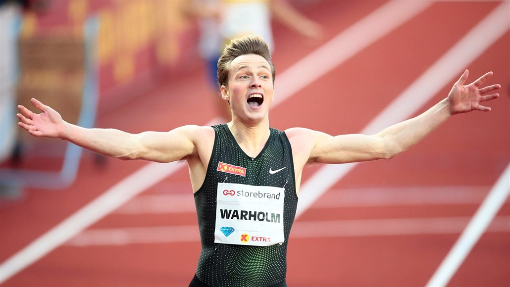 Warholm překonal v Oslu evropský rekord, Vadlejch skončil pátý
