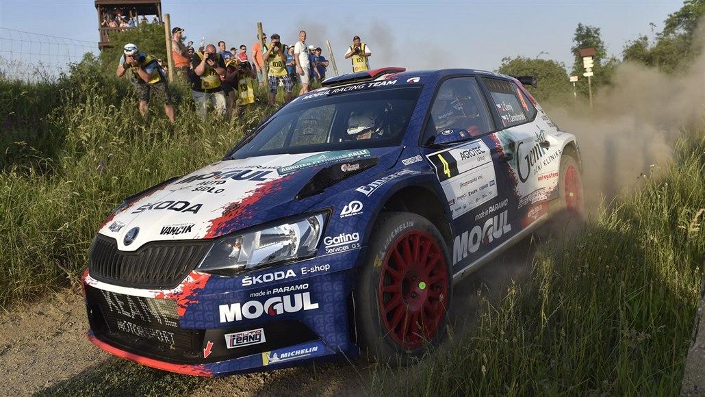 Vstup do Rallye Hustopeče vyšel nejlépe Černému
