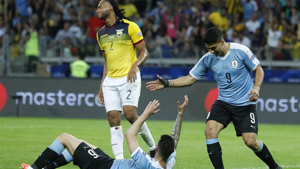 Uruguay zahájila šampionát Jižní Ameriky výhrou nad Ekvádorem
