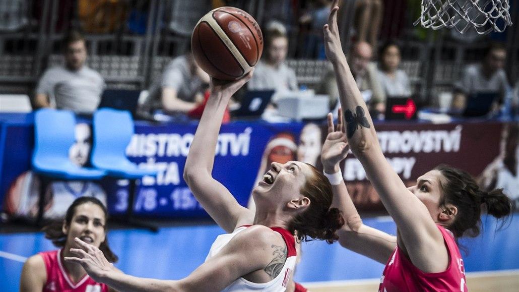 Málo čitelné a rychlé. Basketbalistky brojí na vicemistryně Evropy