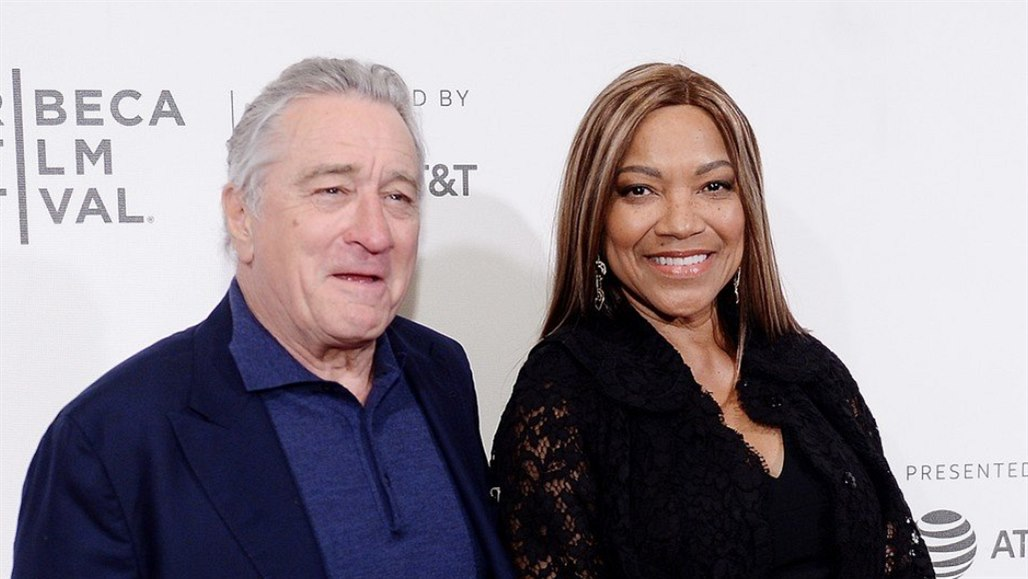 Robert De Niro a Grace Hightowerová (New York, 28. dubna 2018)