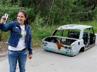 Do Černobylu se hrnou davy turistů, kteří chtějí na místě pořídit co nejlepší...