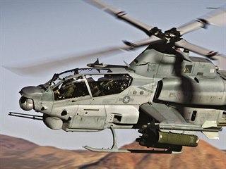 Bitevník AH-1Z Viper a víceúčelový bratříček UH-1Y Venom