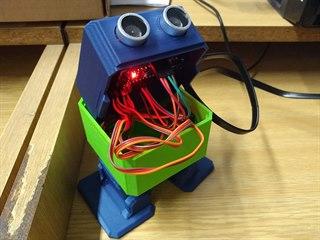 Pohled dovnitř robota Otto