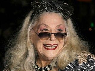 Herečka Sylvia Milesová na snímku z roku 2007