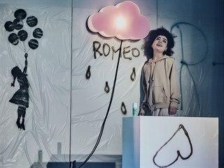 Tereza Marečková v představení Romeo a Julie