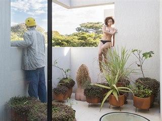 Elegantní řadovou novostavbu si postavil pro sebe a svou manželku brazilský...