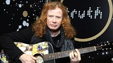 Dave Mustaine (New York, 27. ledna 2018)