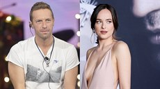 Chris Martin a Dakota Johnsonová