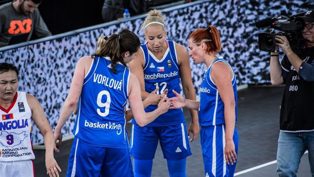 České basketbalistky dohrály na mistrovství světa 3x3 už ve skupině