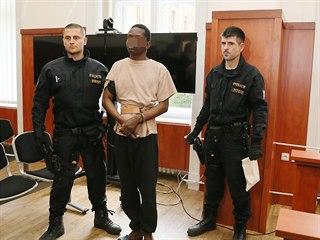 Cizinec, který je podezřelý ze znásilnění šestnáctileté dívky v Terezíně. (20....