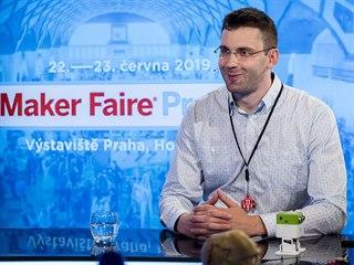 Programový ředitel festivalu Maker Faire Praha Jiří Zemánek v diskusním pořadu...