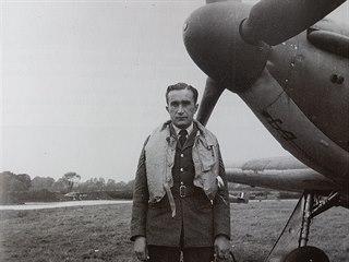 Rodák z Hané Josef František byl mnohokrát vyznamenaný letec britského...