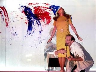 Záběr z představení Meda