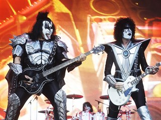 Kiss na akci Prague Rocks na stadionu v Edenu (19. června 2019)