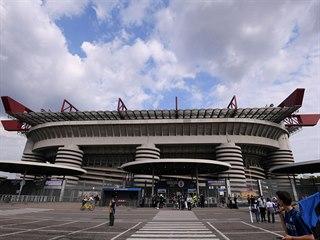 San Siro, domov fotbalových klubů z Milána.