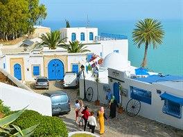 Kavárna Café Sidi Chebaane