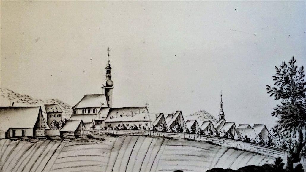 Nejstarší a doposud neznámé zobrazení města Jeseník (tehdy samozřejmě ještě pod...