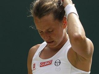 Zklamání Barbory Strýcové ve čtvrtfinále Wimbledonu.