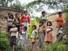 Lidé kmene Sápara. Před začátkem 20. století měl přes 200 tisíc lidí, dnes se k...