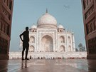 Barevná Indie - Taj Mahal