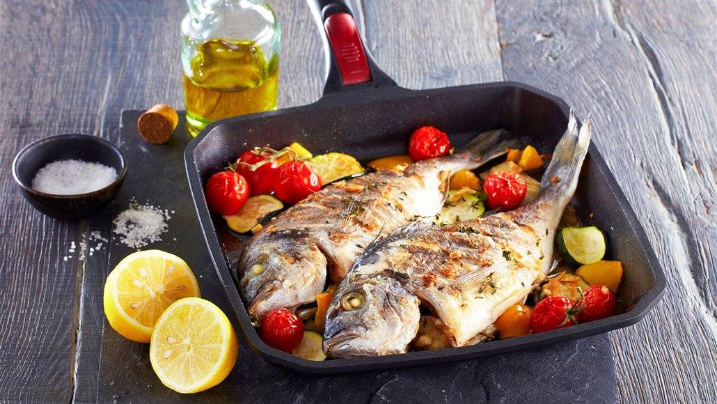 Užijte si skvělou chuť prázdnin. Dejte si rybu nebo krevety