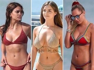 Háčkované plavky jsou stále trendy