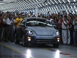 Poslední vyrobený Volkswagen Brouk