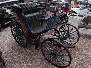 Před 125 lety se na 939 km dlouhou cestu vydal baron Liebieg s vozem Benz...
