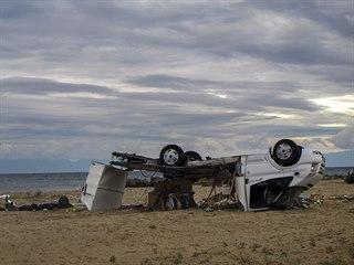 Na pláži na řeckém poloostrově Chalkidiki v noci na čtvrtek zemřeli dva Češi....
