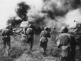 U Prochorovky se v červenci 1943 odehrála jedna z největších tankových bitev.