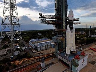Čandrájan-2 (Chandrayaan 2) má do vesmíru vynést indická raketa GSLV Mk.3...