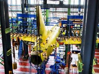 Testování nového letounu Aera Vodochody