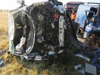 Tři lidé zemřeli při nehodě u Dubu nad Moravou na Olomoucku. Dalších pět lidí...