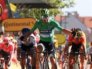 KRÁL. Peter Sagan ovládl pátou etapu na Tour. Celkem jich má na kontě už...