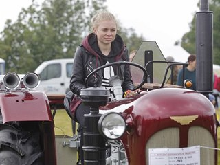 Setkání historických traktorů ve Škrdlovicích na Žďársku se letos konalo už...