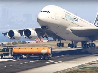 Těsné přistání v Grand Theft Autu 5