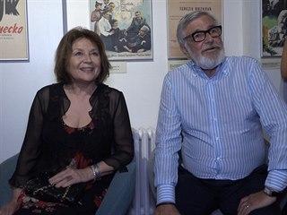 Emília Vášáryová a Jiří Bartoška představují film Šťastný nový rok