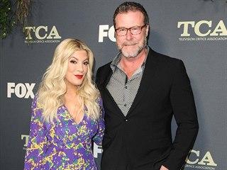 Dean McDermott a Tori Spellingová (Los Angeles, 6. února 2019)