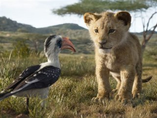 Záběr z nového zpracování Lvího krále